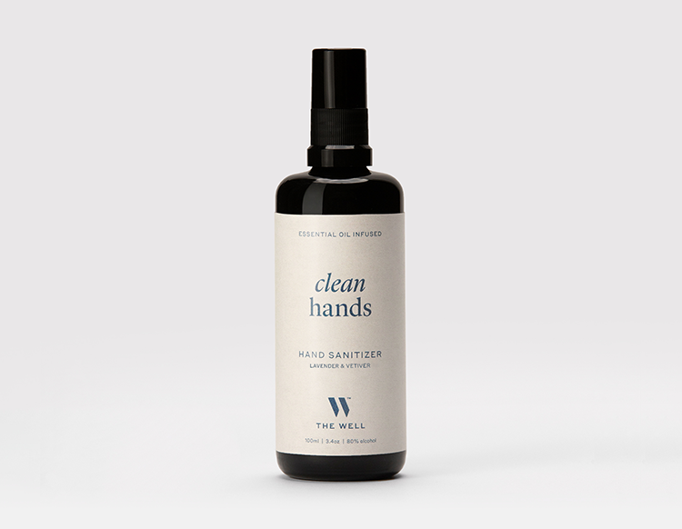 THE WELL Clean Hands Sanitizer Lavender