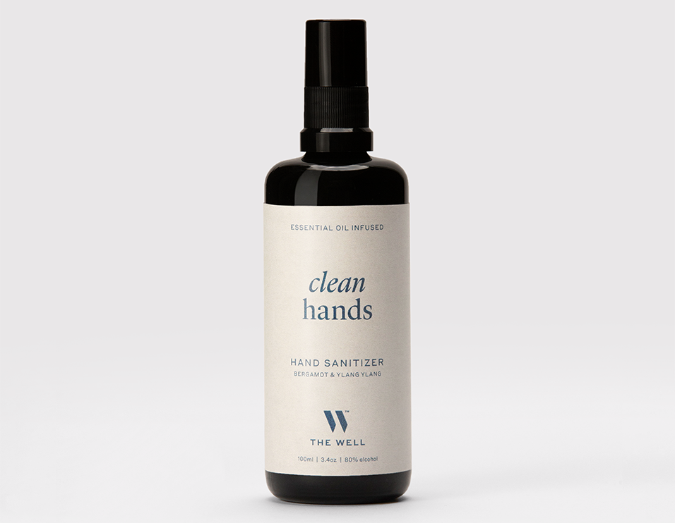 THE WELL clean hands