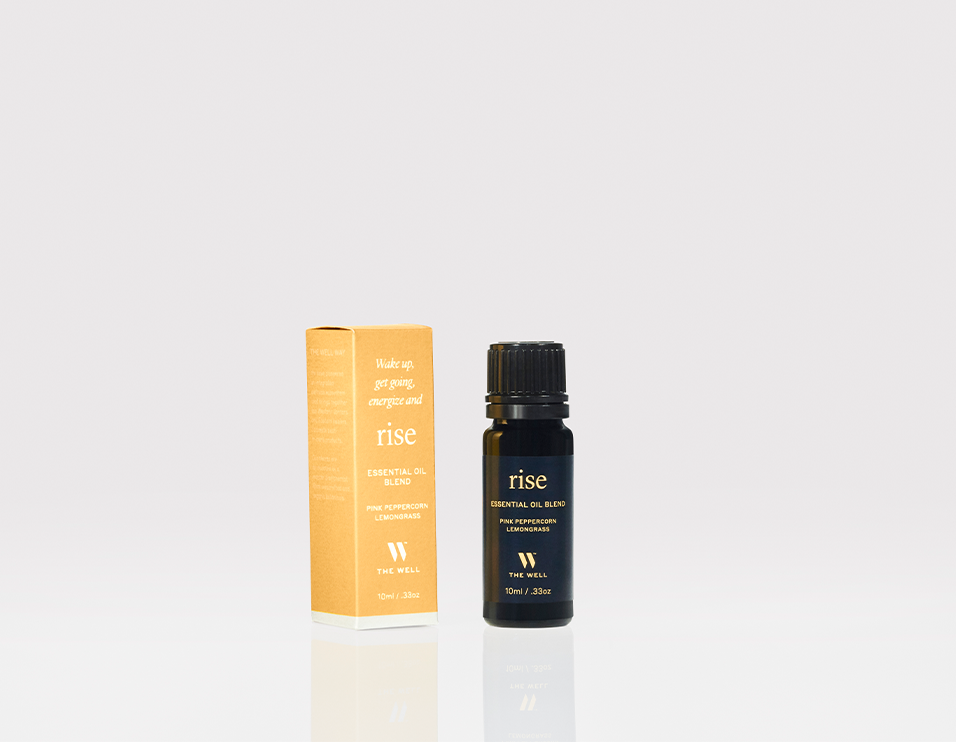 THE WELL rise essential oil blend