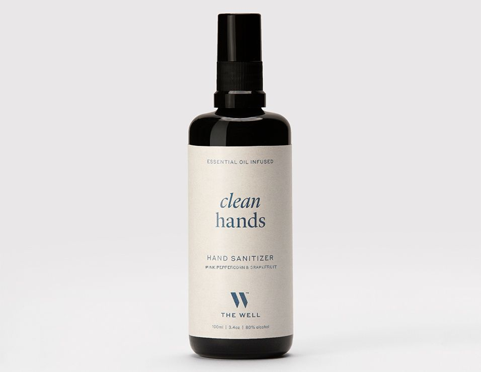 THE WELL Clean Hands Sanitizer Pink Peppercorn