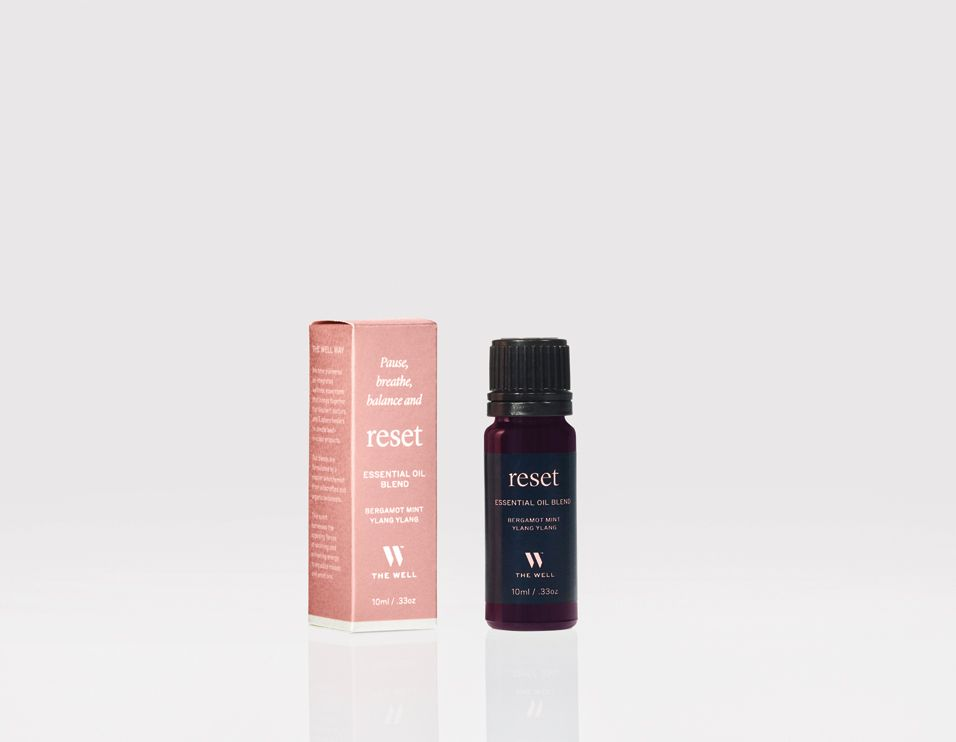 THE WELL reset essential oil blend